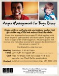 Anger Management for Boys Group