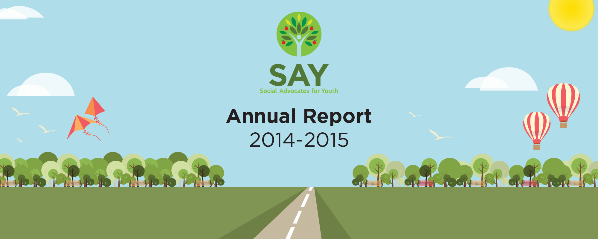 Social Advocates For Youth | Annual Report 2014-2015
