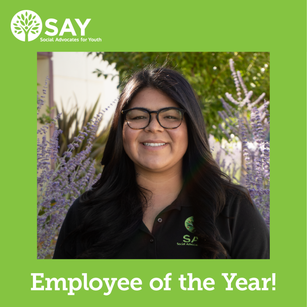 Picture of Employee of the Year Staff Member Amanda
